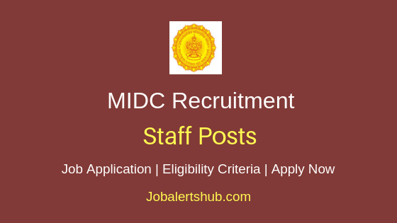 MIDC Staff Job Notification