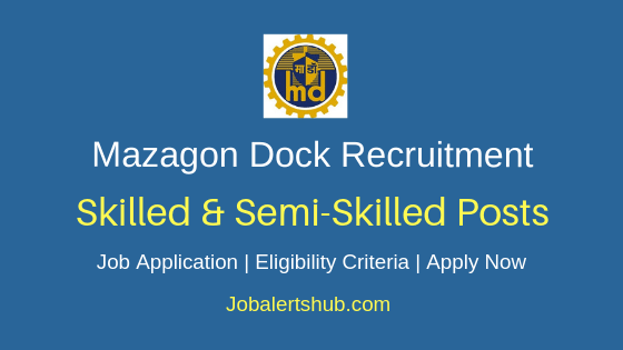 MDL Skilled & Semi Skilled Job Notification