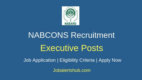 NABARD Executive Job Notification