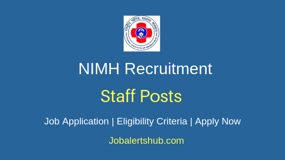 NIMH Staff Job Notification