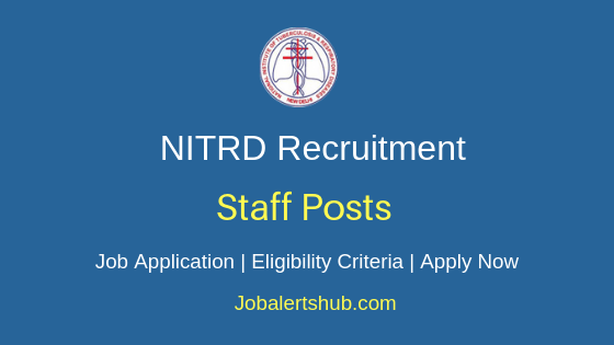 NITRD Staff Job Notification
