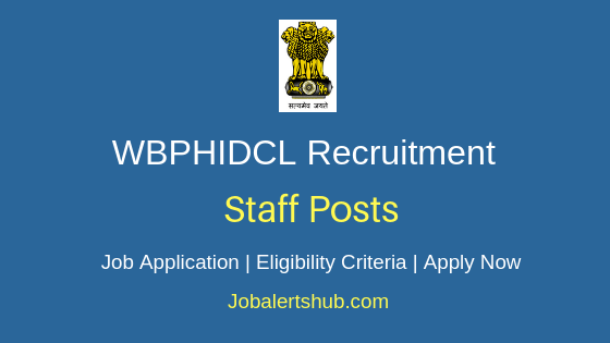 WBPHIDCL Staff Job Notification