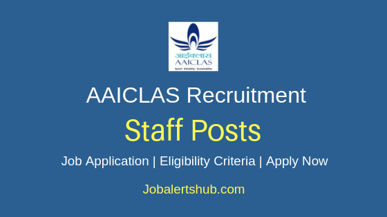 AAICLAS Staff Job Notification