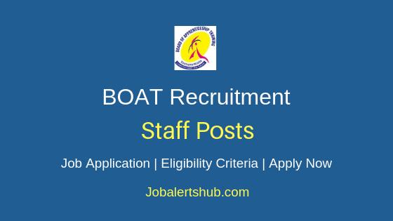 BOAT Staff Job Notification
