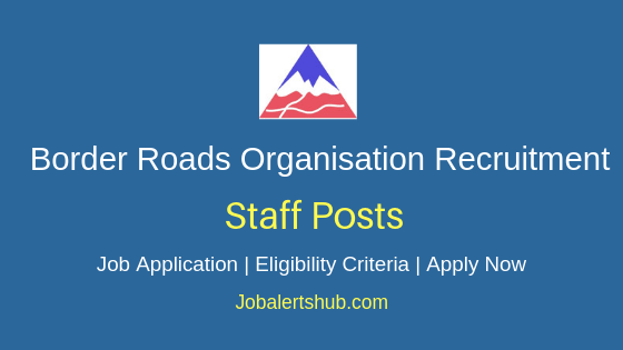 BRO Staff Job Notification