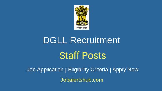 DGLL Staff Job Notification