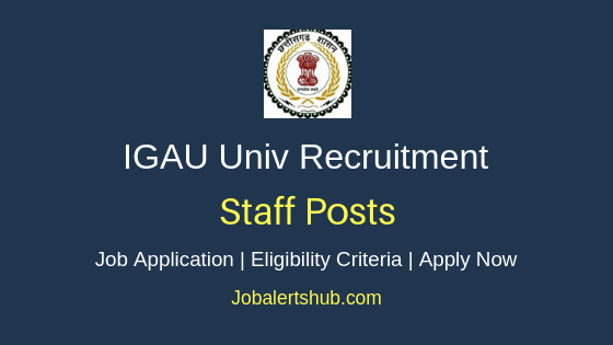 IGAU University Staff Job Notification