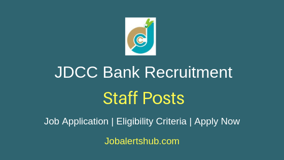 JDCC Bank Staff Job Notification