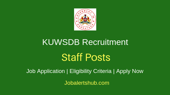 KUWSDB Staff Job Notification