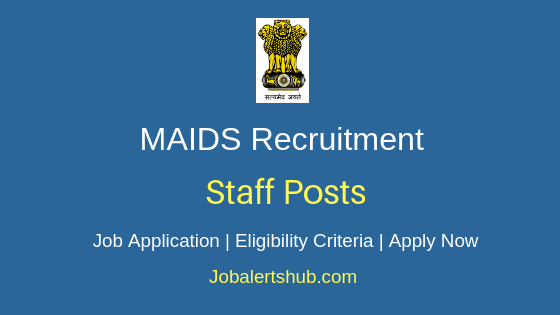 MAIDS Staff Job Notification
