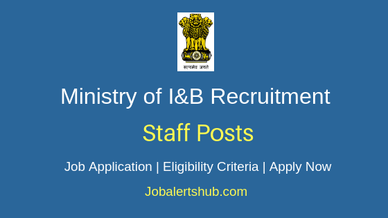 MIB Staff Job Notification