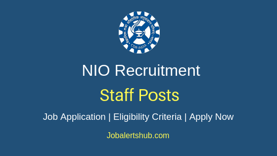 NIO Staff Job Notification