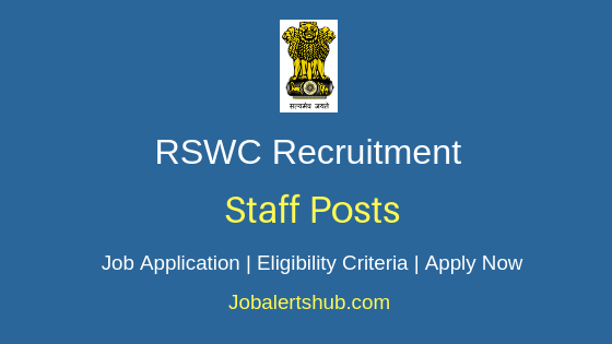 RSWC Staff Job Notification