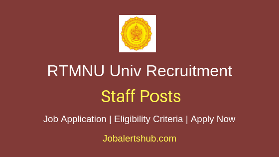 RTMNU Univ Staff Job Notification