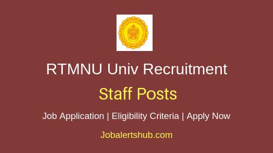 RTMNU Univ Staff Job Notification