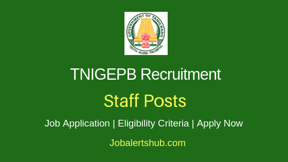 TNIGEPB Staff Job Notification
