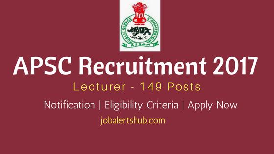 APSC 2017 Recruitment Lecturer Job Announcement