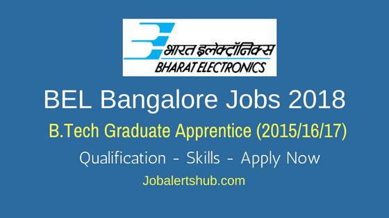 BEL-Bangalore-Jobs-2018-Graduate-Apprentice-job-notification