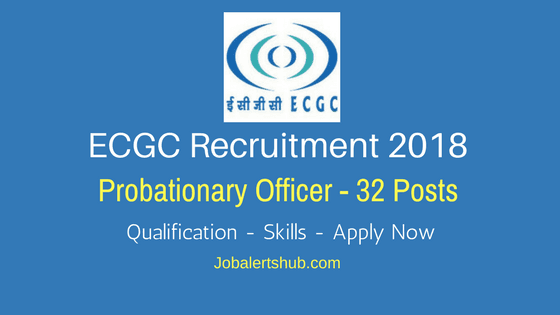 Export-Credit-Guarantee-Corporation-of-India-ECGC-Recruitment-2018-Probationary-Officer-Job-Notification