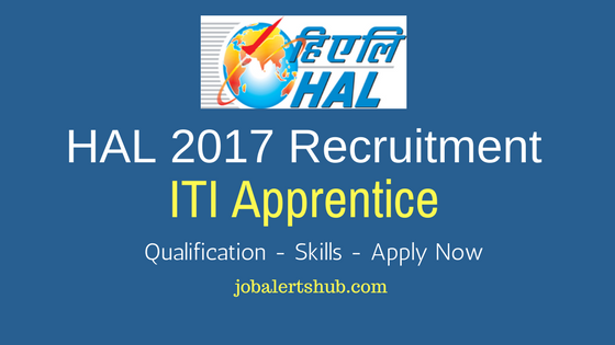 HAL 2017 Recruitment ITI Apprentice for Lucknow location