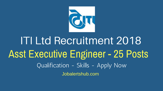 ITI-Ltd-Bengaluru-Recruitment-2018-Asst-Executive-Engineer-Job-Notification