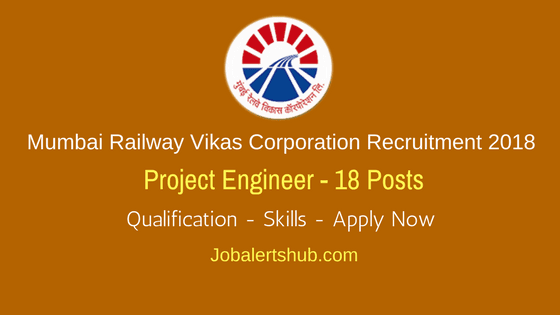 Mumbai-Railway-Vikas-Corporation-Recruitment-2018-Project-Engineer-Job-Notification