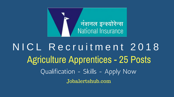 NICL-Recruitment-2018-Agriculture-Apprentices-Job-Notification-To-Fill-25-vacancies