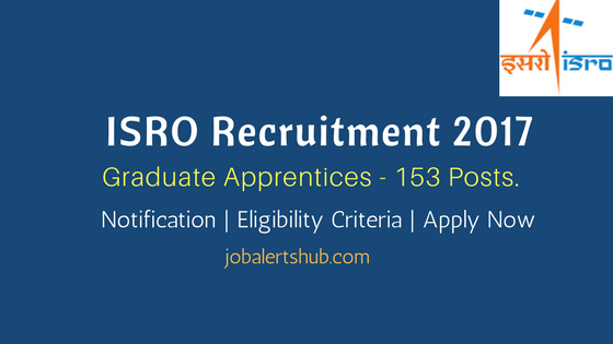 VSSC Recruitment 2017 Graduate Apprentices